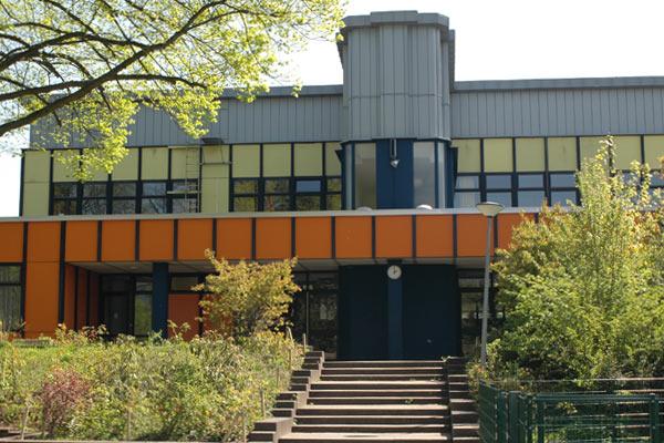 Gustav-Hansen-Schule Eingang